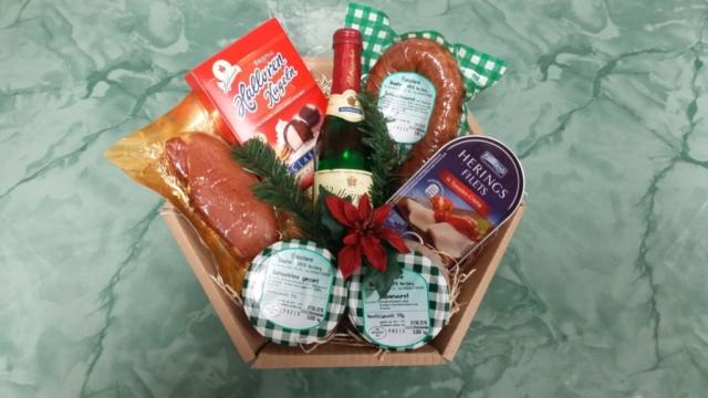 Geschenkkörbe zu jedem Anlass (zwischen 15,00-70,00 €)