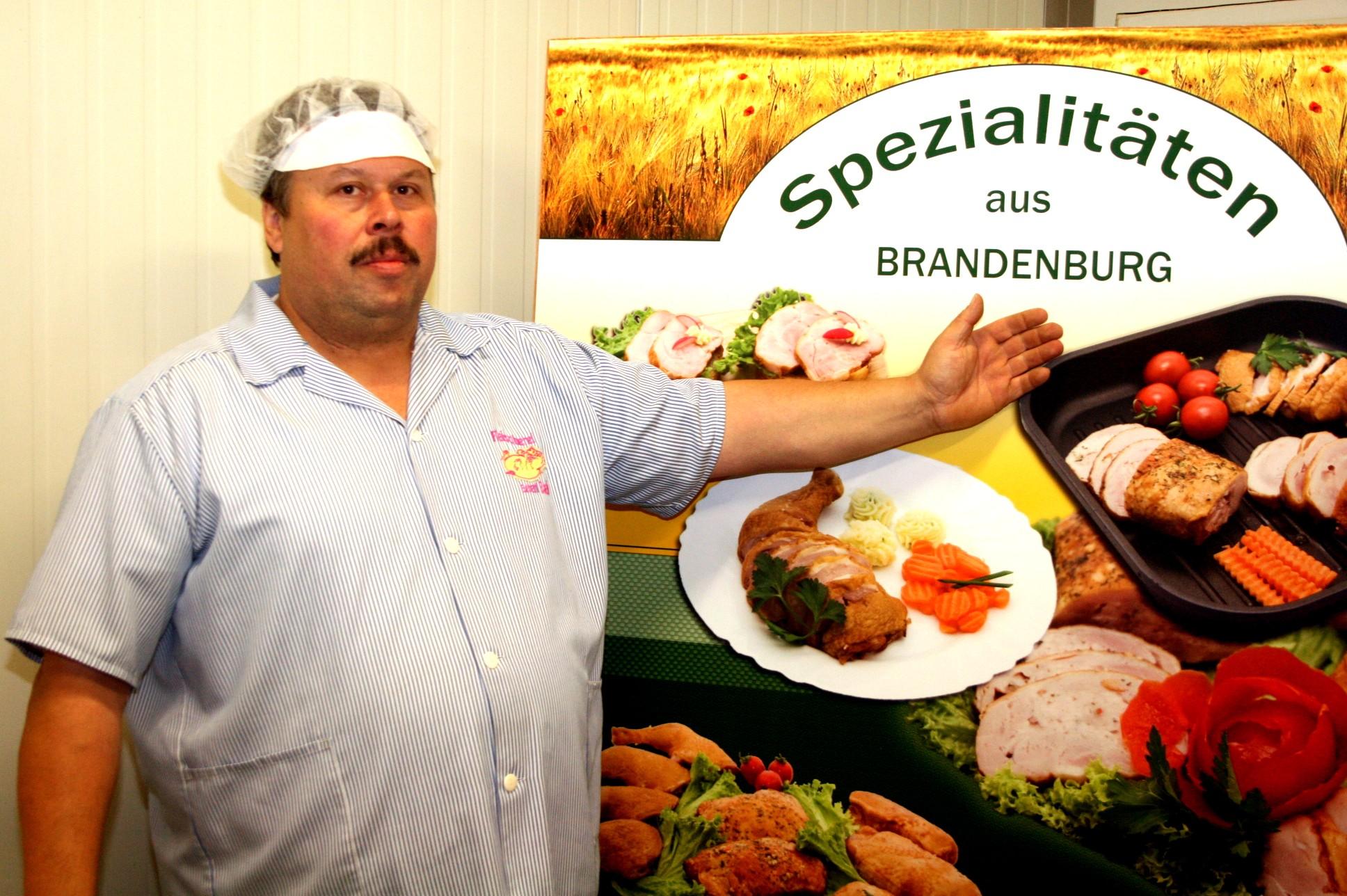 Präsentation der Spezialitäten aus Brandenburg