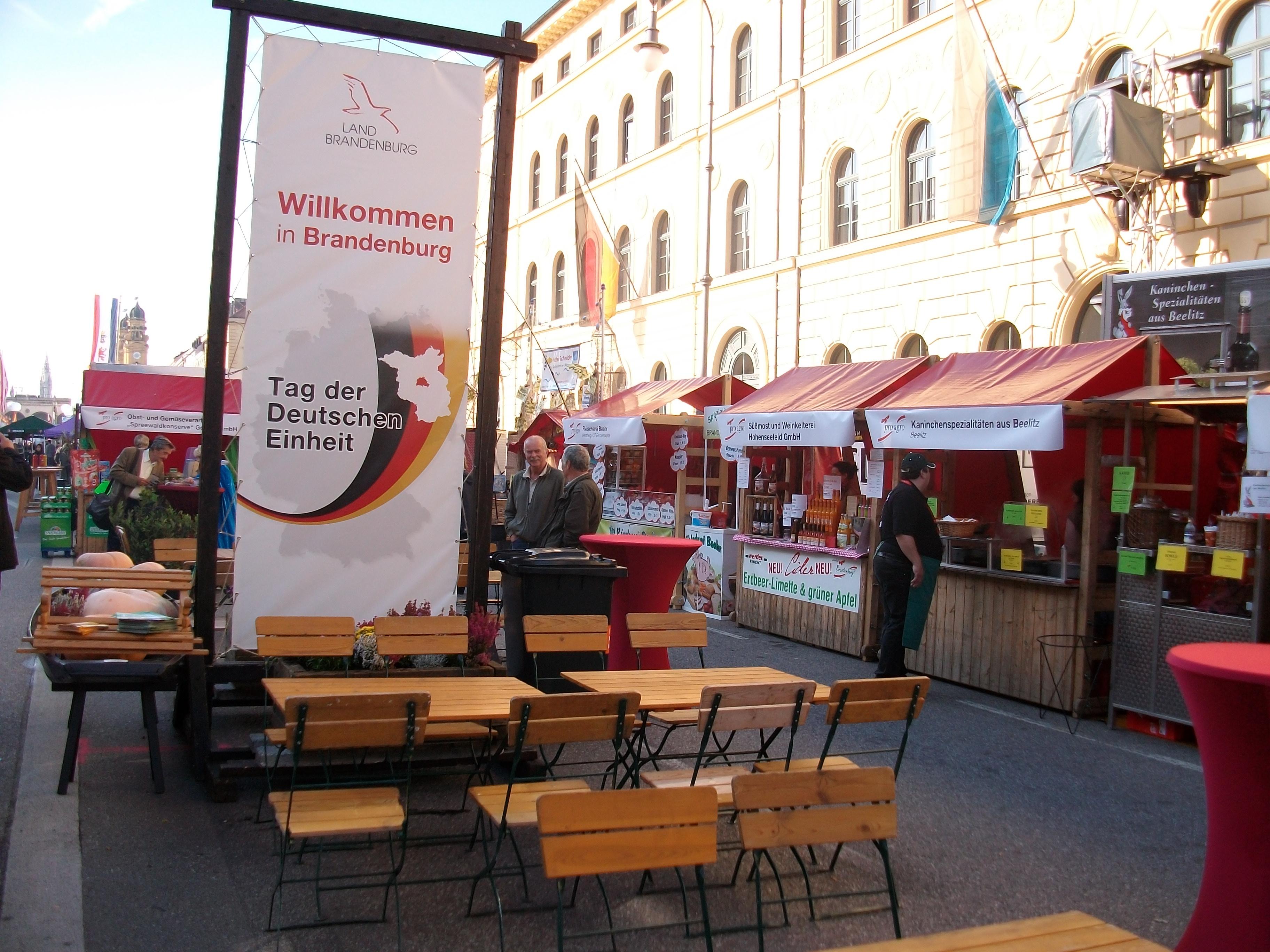Tag der Deutschen Einheit in München