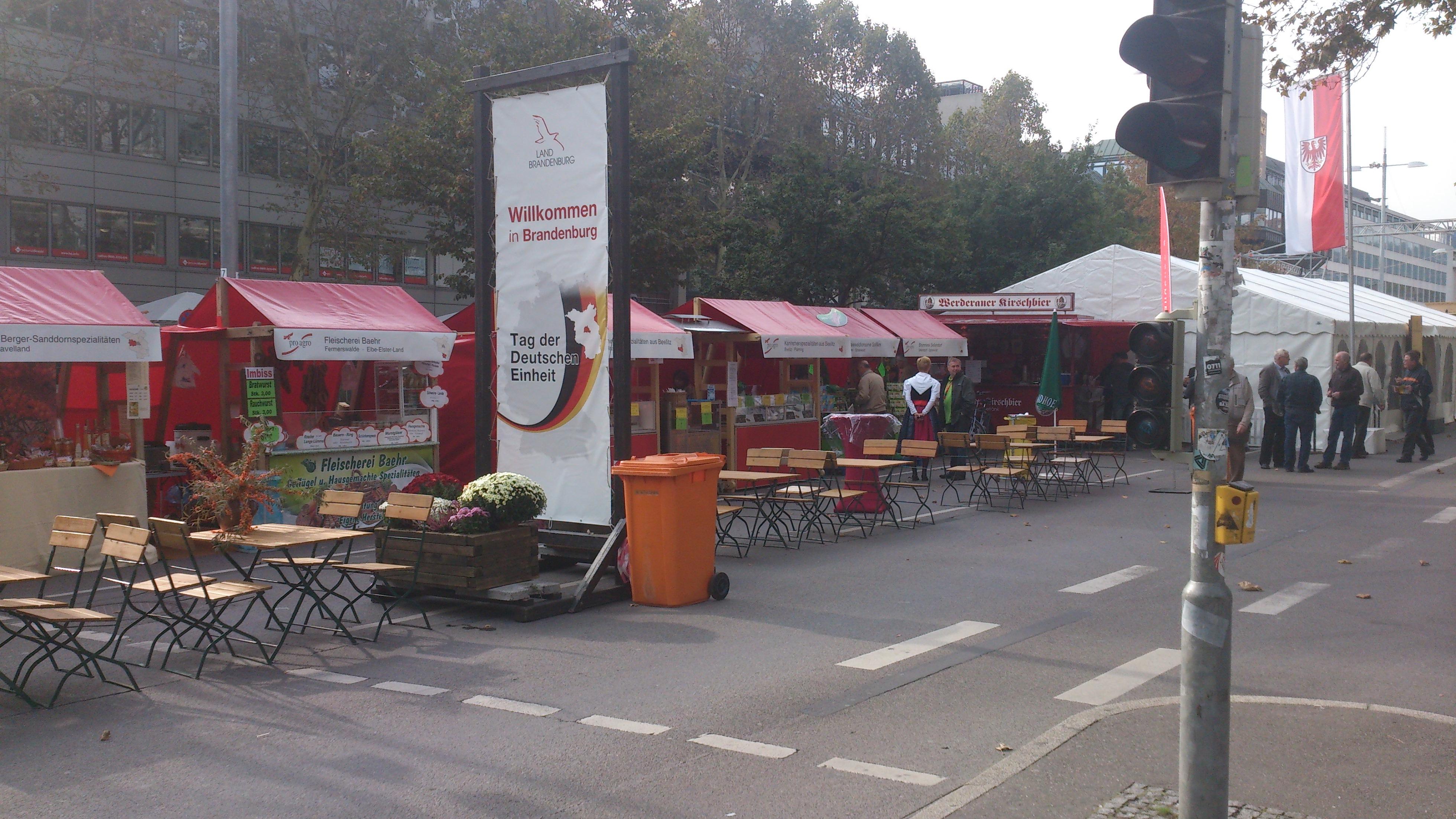 Tag der Deutschen Einheit in Stuttgart